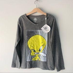 Little Eleven Paris Looney Tunes Tweety Bird Shirt